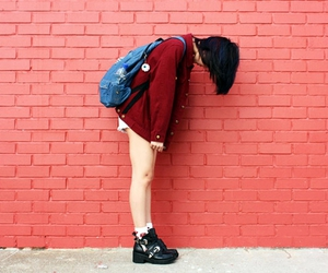 brick, fashion, and outfit image