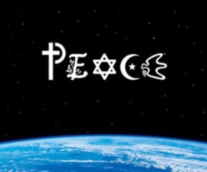 peace and world image