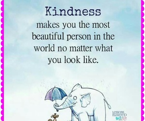 beautiful, kindness, and quote image