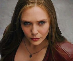 civil war, elizabeth olsen, and scarlet witch image
