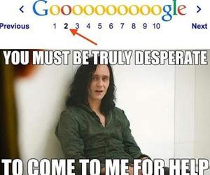 google, funny, and loki image
