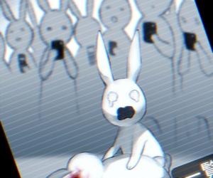 anime, bunny, and rabbit image