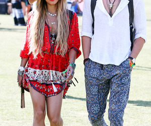 coachella, outfit, and vanessa hudgens image