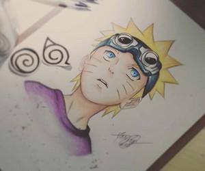 anime, drawing, and naruto image