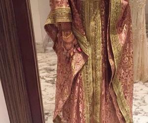 arab, dress, and caftan image