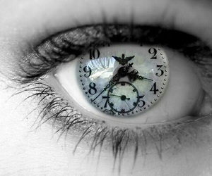 eye and time image