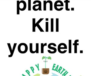earth day, save the planet, and yourself image