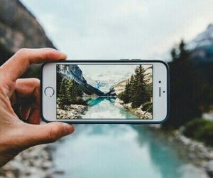 iphone, photography, and nature image