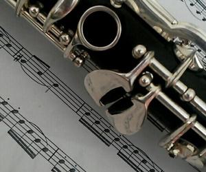 clarinet, music, and musik image