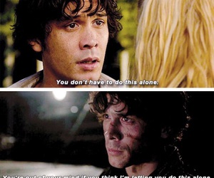 the 100, bellamy blake, and bellarke image