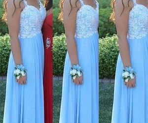 dresses, lace, and Prom image