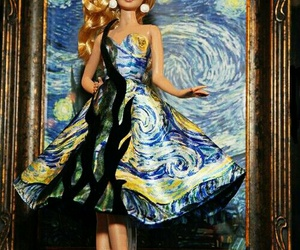 barbie and starry night image