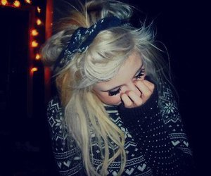 blonde, girl, and hipster image