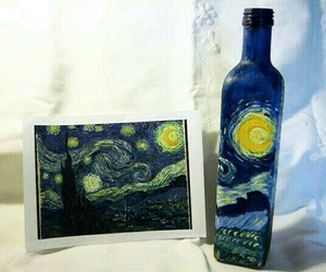 art, starry night, and stuff image