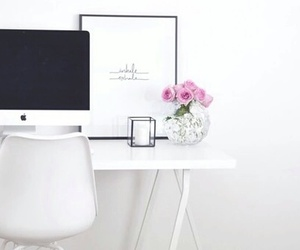 design, flowers, and imac image
