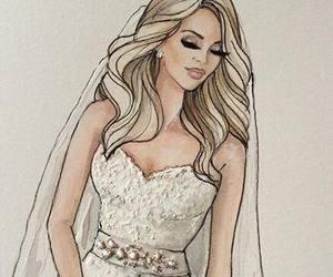 wedding and drawing image