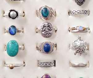 accesories, fashion, and rings image