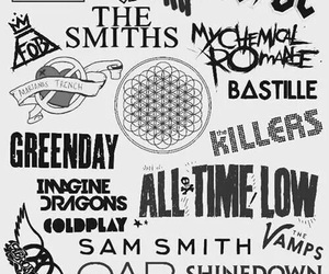 wallpaper, all time low, and bands image