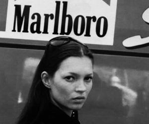 kate moss, model, and marlboro image