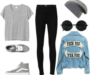 beanie, Polyvore, and black image