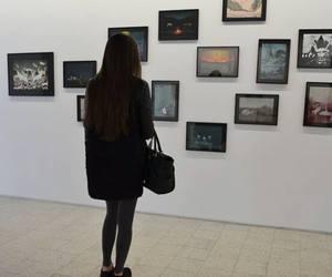 girl, art, and grunge image