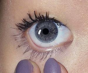 cool, eye, and eyelashes image
