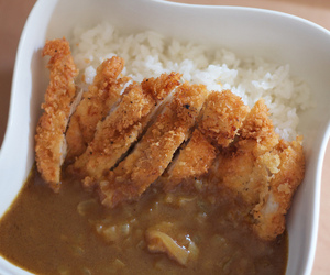curry, food, and japanese food image