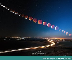 awesome, blood, and moon image
