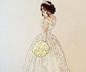 art, wedding, and beautiful image