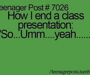 class, presentation, and story image