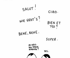 conversation, french, and funny image