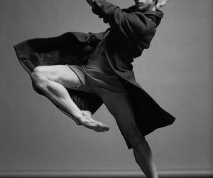 ballet, dancer, and man image