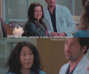 cristina yang, mark sloan, and derek shepherd image