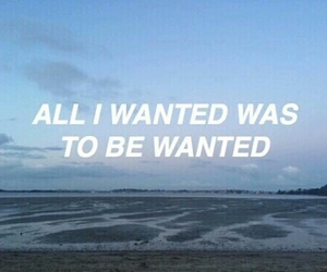 quotes, wanted, and grunge image