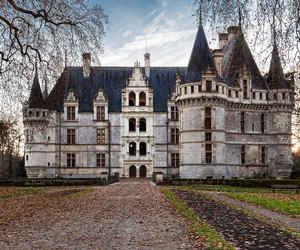 castle, europe, and france image
