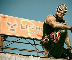lucha libre, rey mysterio, and lucha underground image