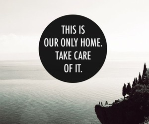 home, earth, and quotes image