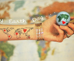 earth and earth day image