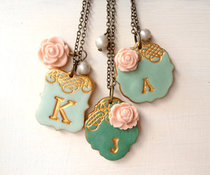 etsy, jane austen, and necklace image