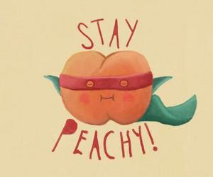 color, fun, and peach image