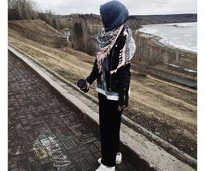hijab, muslim, and alexandra golovkova image