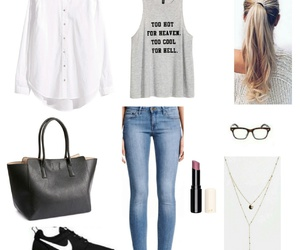 clothes, H&M, and jeans image