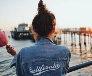 fashion, california, and style image