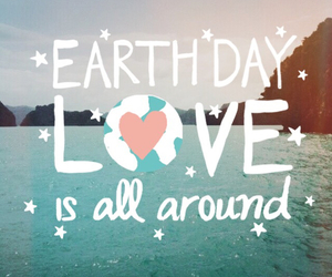 earth day and love image