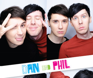 dan and phil, danisnotonfire, and phil lester image