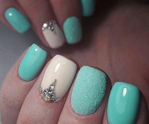nails, 💋, and 😍 image