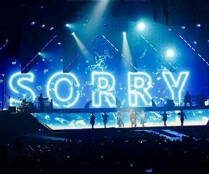 sorry, justin bieber, and purpose tour image