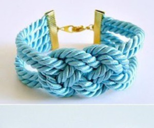 bracelet, diy, and jewelry image