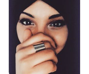 beautiful, muslim, and hijab image