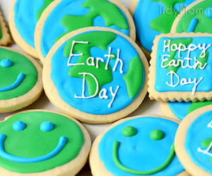 Cookies, earth day, and food image